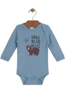 Body Bebê Suedine Up Baby Masculino - Masculino