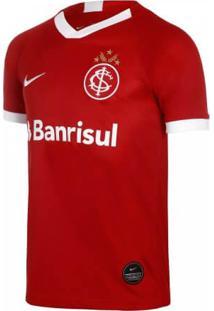 Camisa Infantil Nike Internacional I 2019/2020 Torcedor