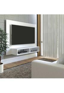 Painel Para Tv Até 42 Polegadas Com Nicho Flash Artely Branco