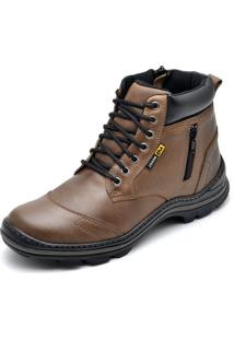 Bota Couro Dr Shoes Adventure ZãPer Marrom - Marrom - Masculino - Couro LegãTimo - Dafiti