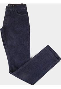 Calça Jeans Infantil Hd Básica Masculina - Masculino-Azul