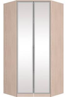 Guarda-Roupa Canto Closet 2 Portas Henn Diamante M30142 Fendi Se