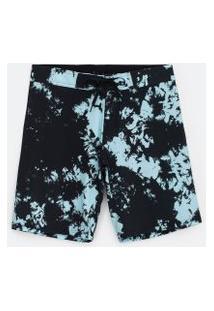 Bermuda Estampa Tie Dye | Ripping | Cinza | 48