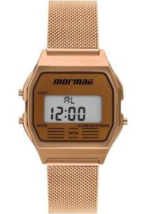 Relógio Mormaii Digital Maui Vintage Feminino - Feminino-Dourado