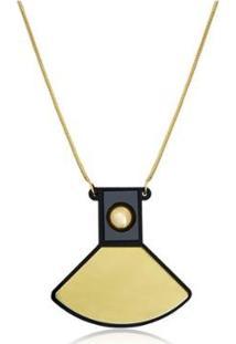 Colar Le Diamond Avelina Feminino - Feminino-Dourado