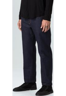 Calca Jeans Leblon Rustic E-Basics-Indigo - 38