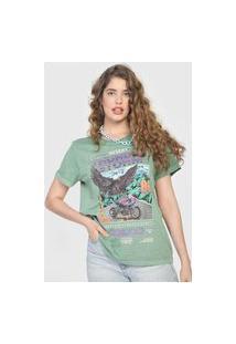 Camiseta Colcci Thunder Storm Verde