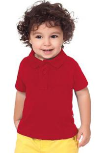 Camisa Polo Vermelho Fakini Evedy Day