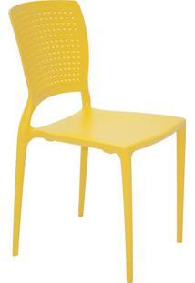 Cadeira Safira- Amarela- 84,5X43X52Cm- Tramontintramontina