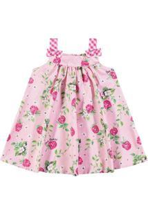Vestido Infantil Nanai Tecido Maquinetado 600106.40073.4