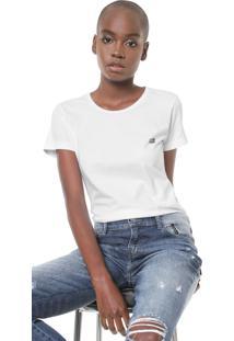 Camiseta Ellus 2Nd Floor Co Basic Esf Branca