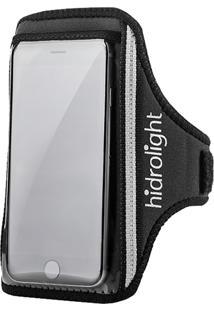 Braçadeira Porta Celular E Acessórios Hidrolight H56 Grande Preta