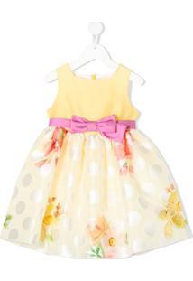 Colorichiari Vestido Com Estampa Floral - Amarelo