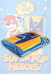 Cobertor Solteiro Lepper Patrulha Canina Menino Azul 1,50 X 2,20 - Azul - Menino - Dafiti