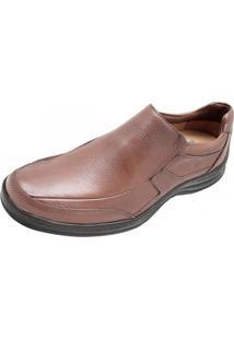 53fd163877 Sapato Casual Gasparin Recortes Marrom