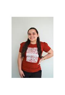 T-Shirt Feminina Estampa Centralizada Animal Ruby Gatabakana