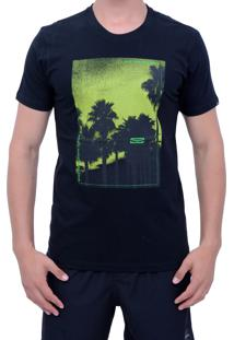 212451ba7aabd Camiseta Caveira Neon masculina