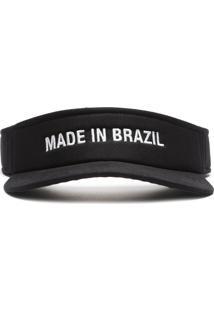 Viseira Preta Made In Brazil   Fiever