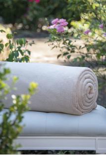 Cobertor Scavone Microfibra Caqui
