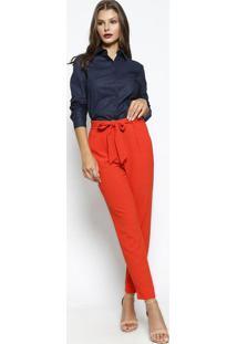 8527246c8d Camisa Lisa - Azul Escuro- Vip Reservavip Reserva