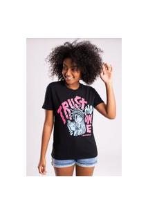Camiseta Bossa Brasil Trust Preto