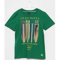 9aae831a3 Camiseta Infantil Colcci Fun Paradise Masculina - Masculino