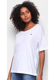 Camiseta Lacoste Mini Logo Feminina - Feminino