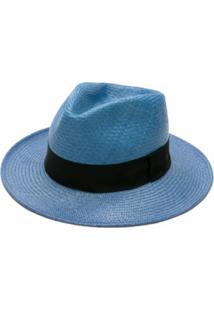 Dolce & Gabbana Chapéu De Palha - Azul