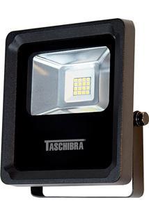 Refletor Led Taschibra 8W 3000K Tr 10 Preto