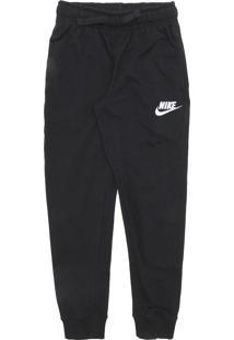 Calça Nike Menina Lisa Preta