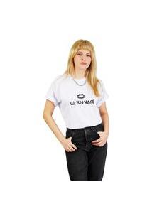 Camiseta Kissa By Valley Feminina Branca