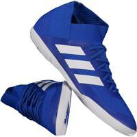 91080e6bb0f6f Chuteira Adidas Nemeziz Tango 18.3 In Futsal Azul