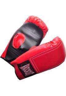 Luva Couro De Boxe KnockoutTreinamento - Unissex