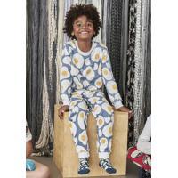 56e03b3cf5 Pijama Infantil Menino Estampado Que Brilha No Escuro Puc