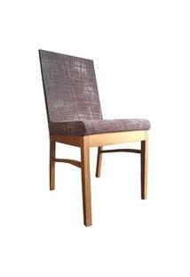 Capa Para Cadeira De Jantar Ajustável - Vinho Riscos Brancos