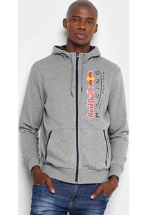 Jaqueta Puma Red Bull Racing Sweat Masculina - Masculino