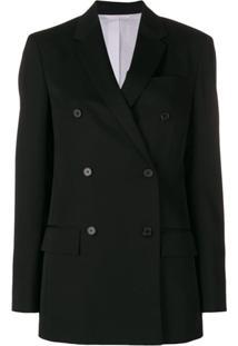 Calvin Klein 205W39Nyc Double Breasted Jacket - Preto a909bf742e