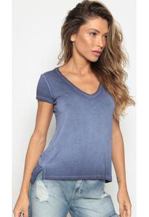 Camiseta Estonada - Azul Marinhocalvin Klein