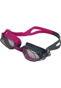 Óculos De Natação Speedo Glypse Slc - Adulto - Rosa/Cinza
