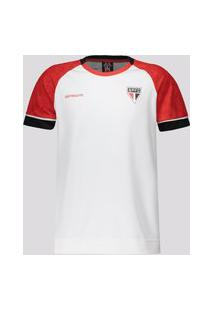 Camisa Sáo Paulo Cell Infantil Branca