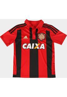 ba4ef2d6bf Camisa Adidas Sport Recife I 15/16 S/Nº Infantil C/ Patrocínio -