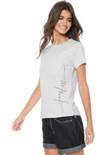 Camiseta Tricats Less Cinza