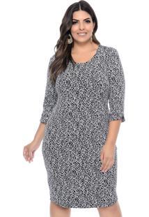 Vestido Marie Plus Size Vitral Inverno