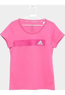 Camiseta Infantil Adidas Tr Cool - Feminino