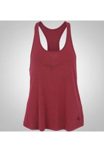 Camiseta Regata Com Proteção Solar Uv Mizuno Liberty - Feminina - Vinho 1cd00221165