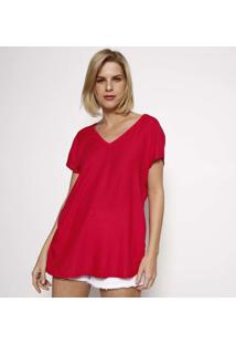 Camiseta Texturizada- Pinkhering
