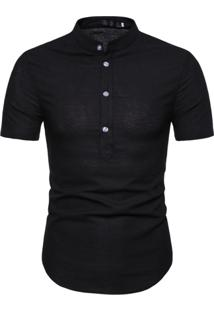 Camisa Canmore - Preto M