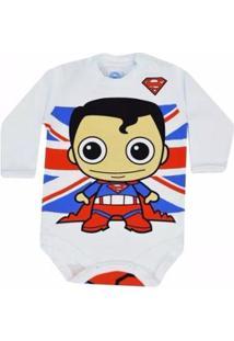 Body Infantil Get Baby Superman Masculino - Masculino