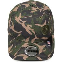 Boné New Era Snapback 940 Military Division Oakland Raiders Verde Marrom 4b0500f0c9e