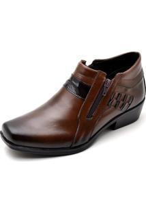 Bota Top Franca Shoes Casual Café
